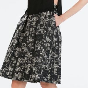 Zara Jacquard Skirt size XS